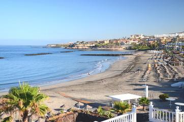 Przepiękna Playa de Torviscas w Adeje, Tenerife