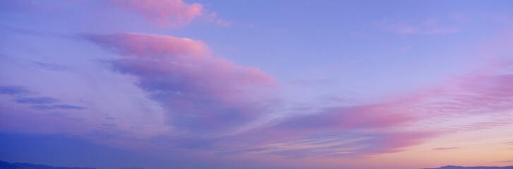 Sunset in western Arizona