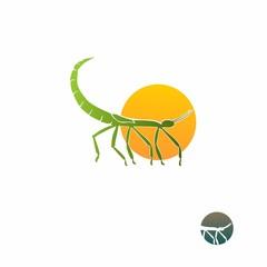 mantises logo vector