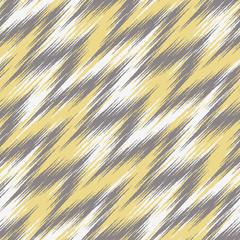 Seamless Ikat Chevron Background Pattern