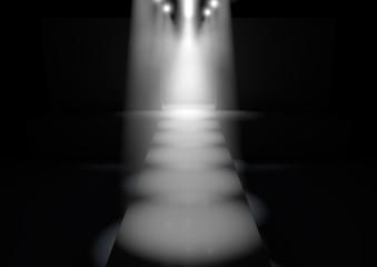Spotlit Runway