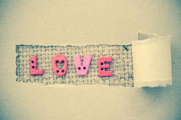 Grunge of love.