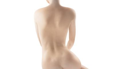 Schiena di donna nuda