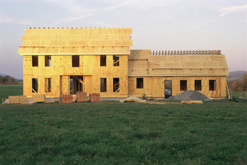 Construction of new home
