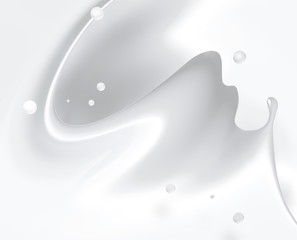milk splash
