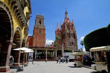 Downtown San Miguel de Allende, Mexico