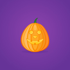 Halloween pumpkin vector illustration