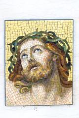 Mosaic of Jesus Christ.