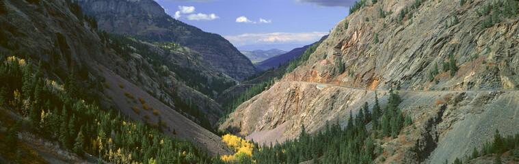 Million Dollar Highway, San Juan National Forest, Colorado