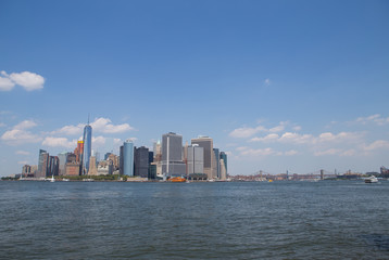 NYC Skyline and East River