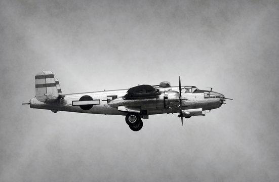 World War II era bomber