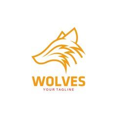 Wolves Logo Template