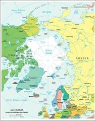 Arctic Region political divisions