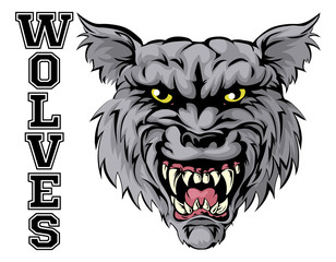 Wolves Sports Mascot