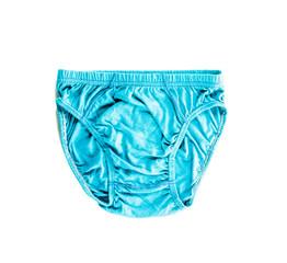 blue underwear