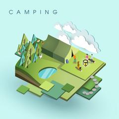 camping activity