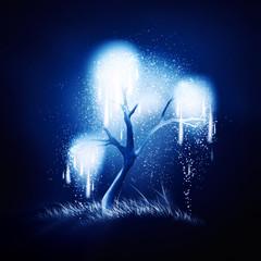 magic shining tree