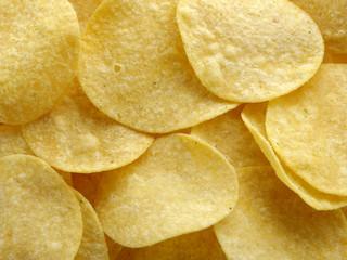 Tasty potato chips.