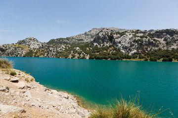 Reservoir in Mallorca