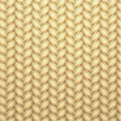 Woven rattan seamless background,vector illustration