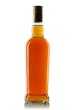 Bottle with alcohol