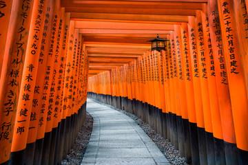 Fototapete - Fushimi Inari Schrein in Kyoto