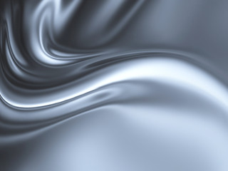 abstract chrome Wall mural