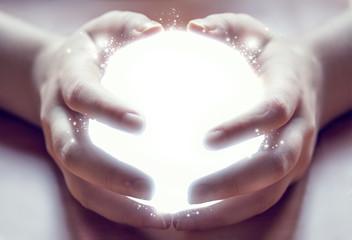 shining ball