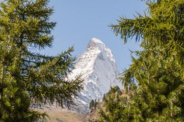 Zermatt, Dorf, Walliser Dorf, Alpen, Schweizer Berge, Matterhorn, Walliser Berge, Wanderregion, Alpenregion, Wallis, Sommer, Schweiz