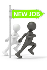 run for a new job