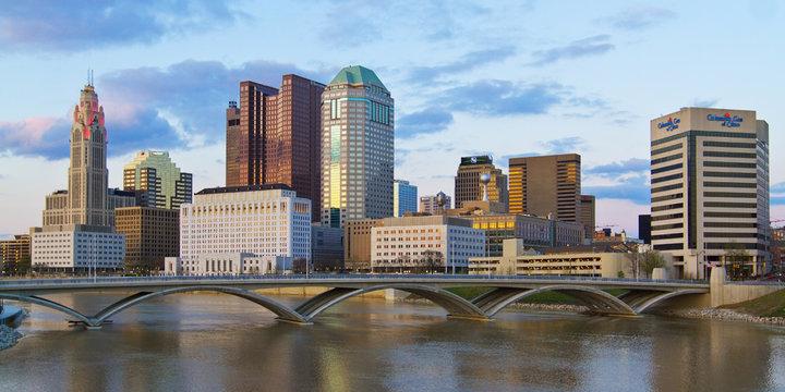 Downtown Columbus Ohio Skyline