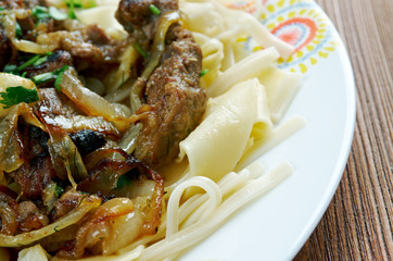 naryn - lamb with noodles