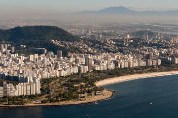 Flamengo Beach and District in Rio de Janeiro