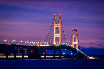 Mackinac Bridge Twilight
