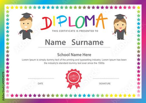u0026quot preschool kids elementary school diploma certificate