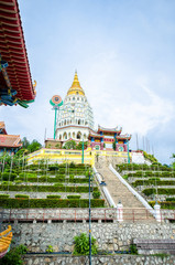 Kek Lok Si temple a Buddhist temple situated in Air Itam in Penang.It is one of the best known temples on the island.