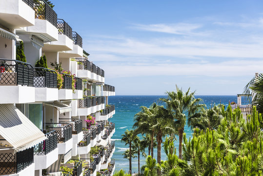Apartments in the Costa del Sol, Spain