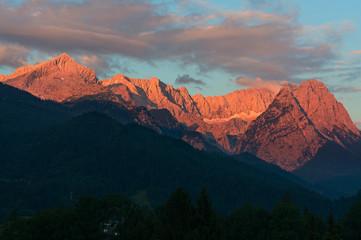 Zugspitze und Alpspitze