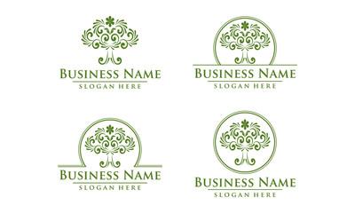 oak, tree, logo