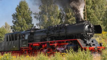 schöne alte dampflok, dampflokomotive