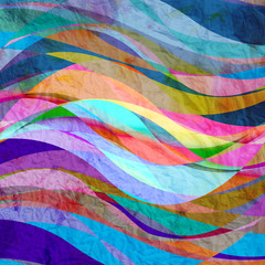 Abstract wave color background
