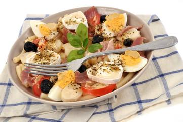 Assiette de salade composée