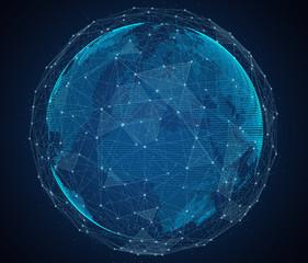 Global network of internet