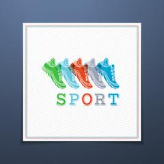Sport template.