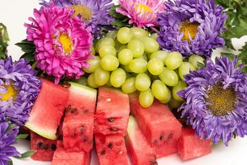 watermelon vine flowers