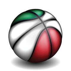 Italian basket ball, vector