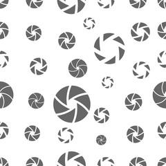 seamless pattern with camera shutter