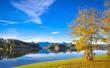 Forggensee im Allgaeu im Herbst