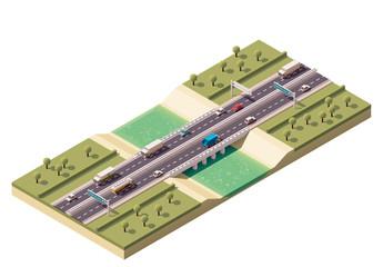 Vector isometric bridge