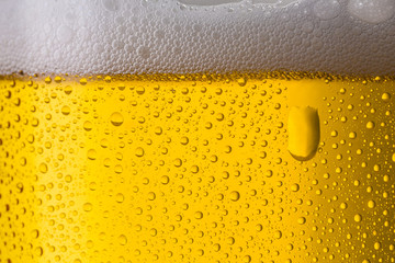 kaltes bier aus der brauerei